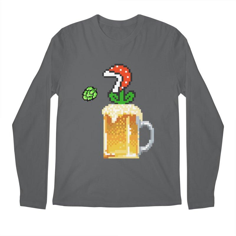 Beeranha Plant Men's Longsleeve T-Shirt by DrinkIN GeekOUT's Artist Shop