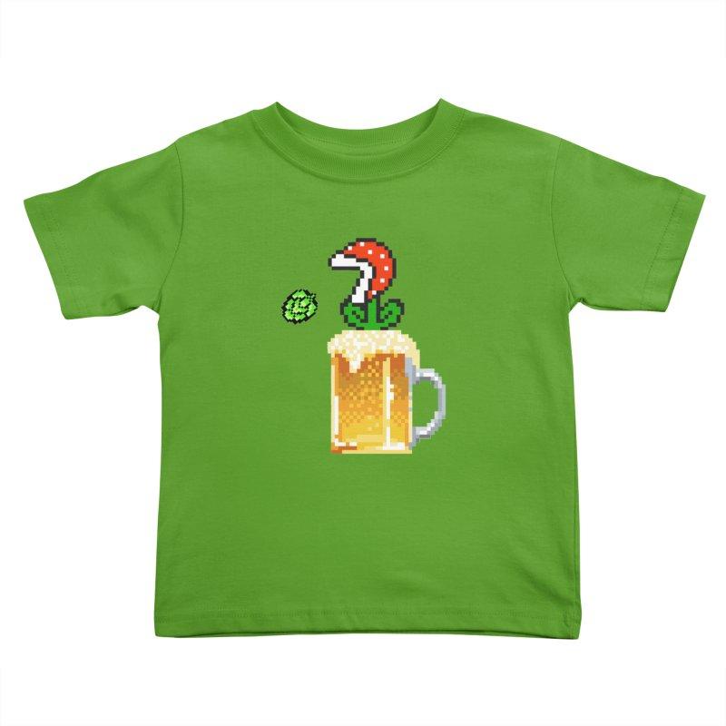Beeranha Plant Kids Toddler T-Shirt by DrinkIN GeekOUT's Artist Shop