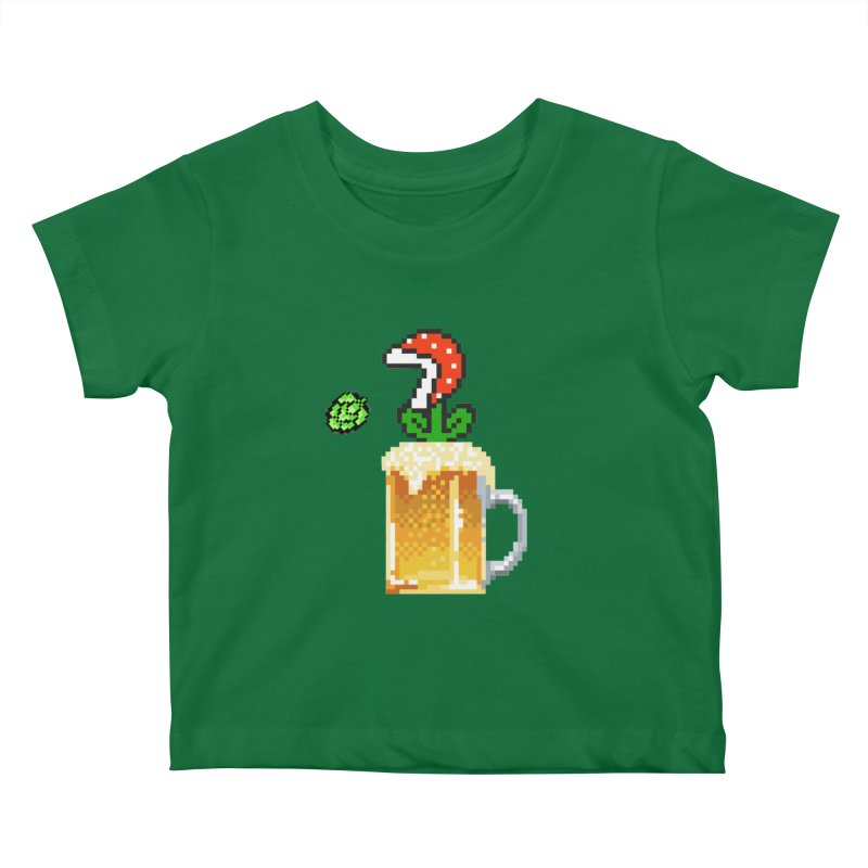 Beeranha Plant Kids Baby T-Shirt by DrinkIN GeekOUT's Artist Shop