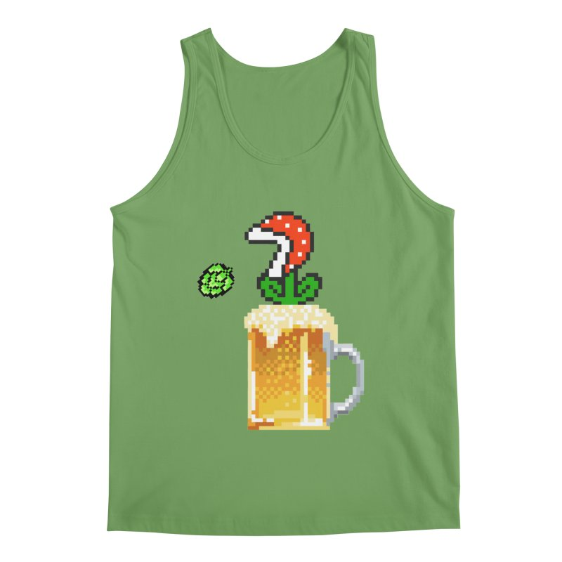 Beeranha Plant Men's Tank by DrinkIN GeekOUT's Artist Shop