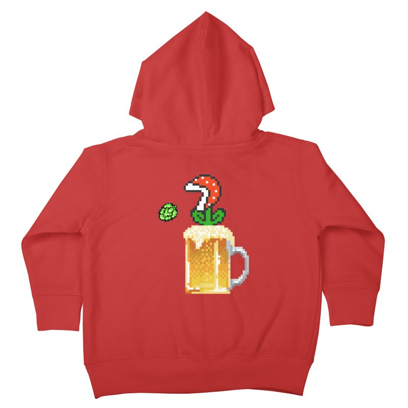 Beeranha Plant Kids Toddler Zip-Up Hoody by DrinkIN GeekOUT's Artist Shop