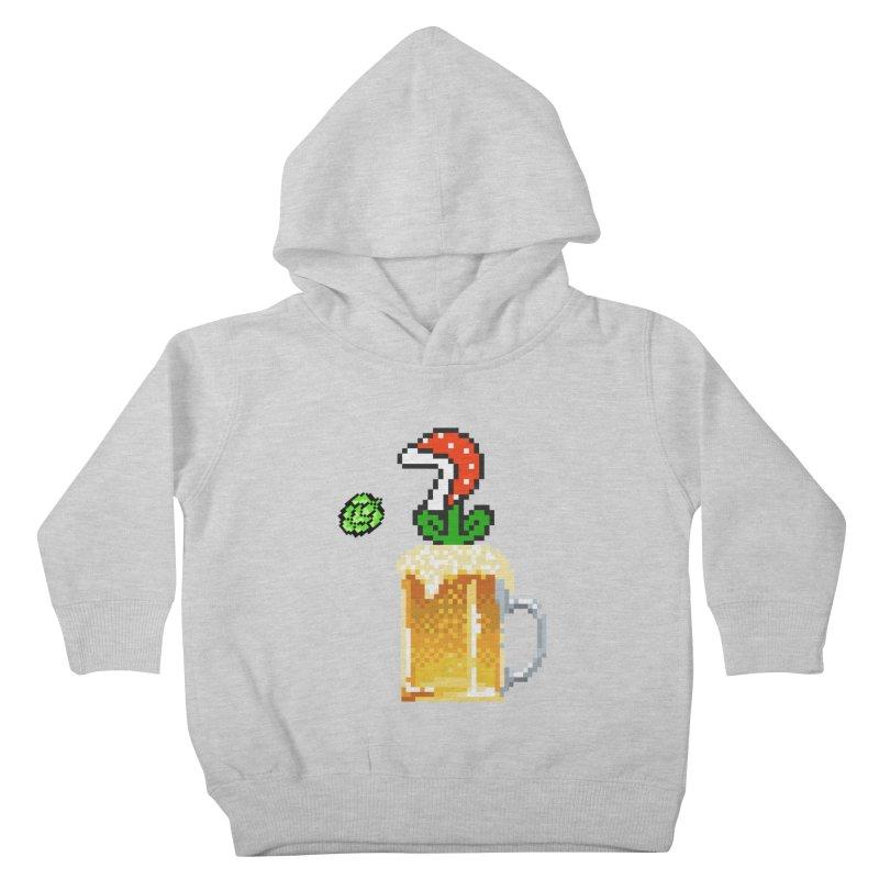 Beeranha Plant Kids Toddler Pullover Hoody by DrinkIN GeekOUT's Artist Shop