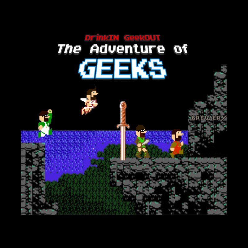 DiGo: The Adventure of Geeks Men's T-Shirt by DrinkIN GeekOUT's Artist Shop