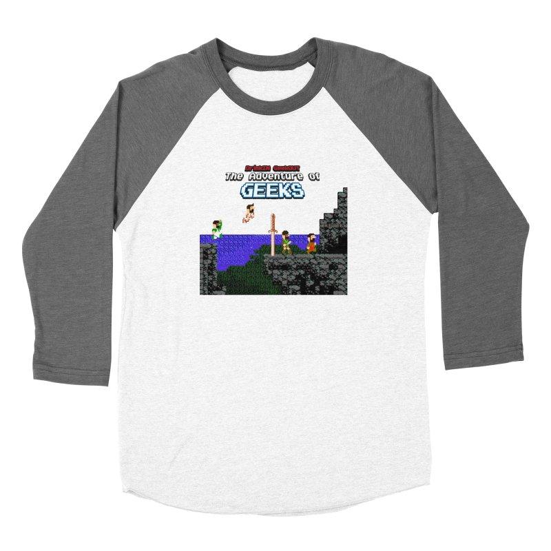 DiGo: The Adventure of Geeks Women's Longsleeve T-Shirt by DrinkIN GeekOUT's Artist Shop