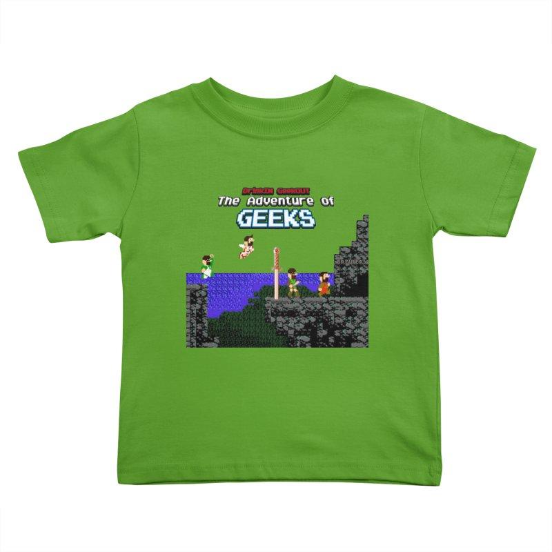 DiGo: The Adventure of Geeks Kids Toddler T-Shirt by DrinkIN GeekOUT's Artist Shop
