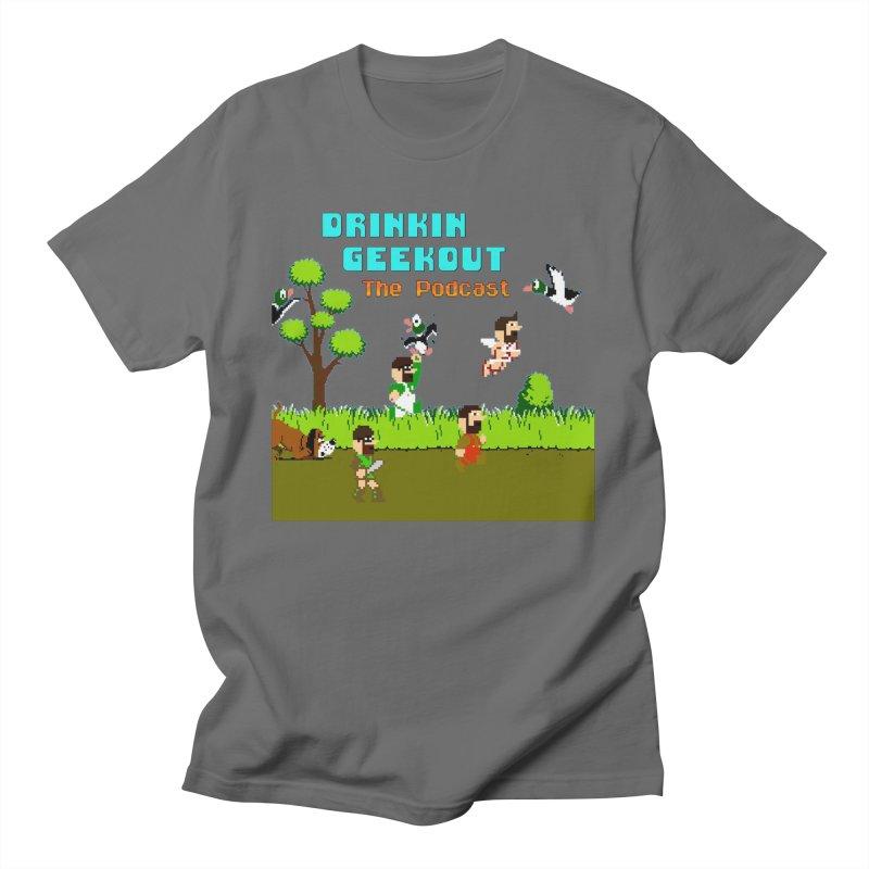 DiGo Hunt Men's T-Shirt by DrinkIN GeekOUT's Artist Shop