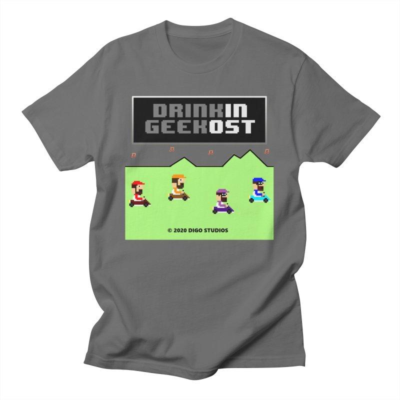 DiGo Kart Men's T-Shirt by DrinkIN GeekOUT's Artist Shop