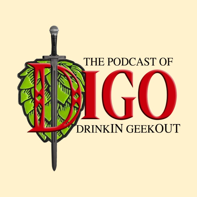 The Podcast of DiGO Home Shower Curtain by DrinkIN GeekOUT's Artist Shop