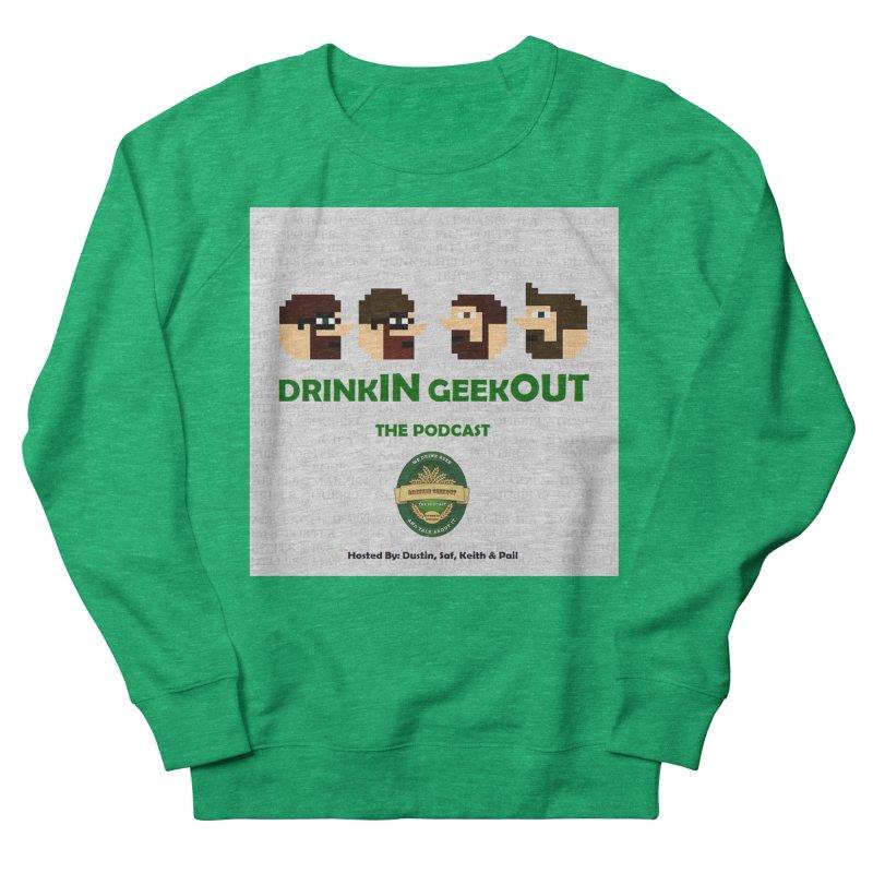 DrinkIN GeekOUT Men's Sweatshirt by Drinkingeekout's Artist Shop