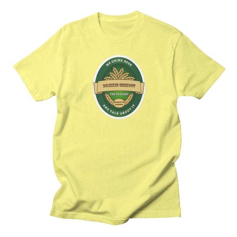 DrinkIN GeekOUT Classic Women's Regular Unisex T-Shirt by DrinkIN GeekOUT's Artist Shop