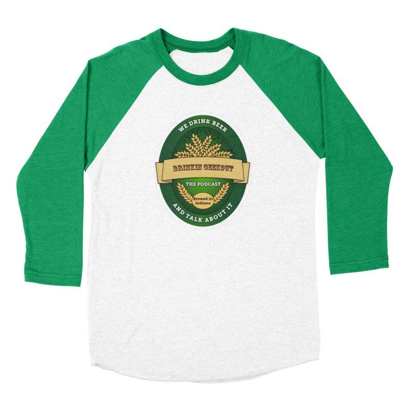 DrinkIN GeekOUT Classic Women's Baseball Triblend Longsleeve T-Shirt by DrinkIN GeekOUT's Artist Shop