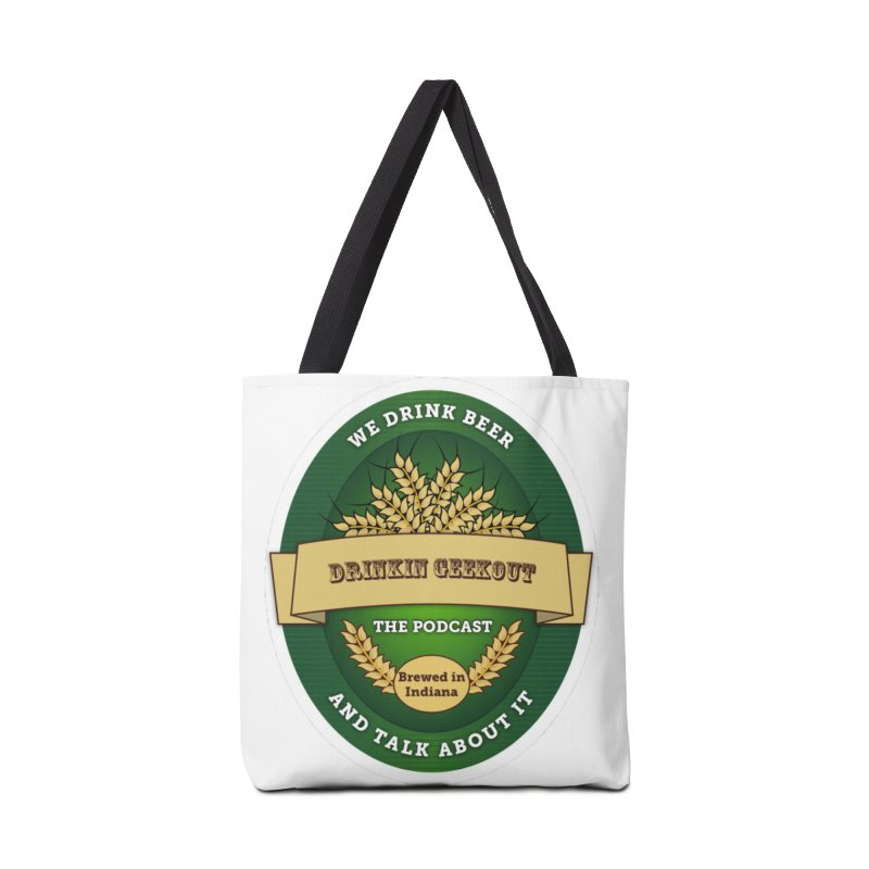 DrinkIN GeekOUT Classic Accessories Bag by Drinkingeekout's Artist Shop