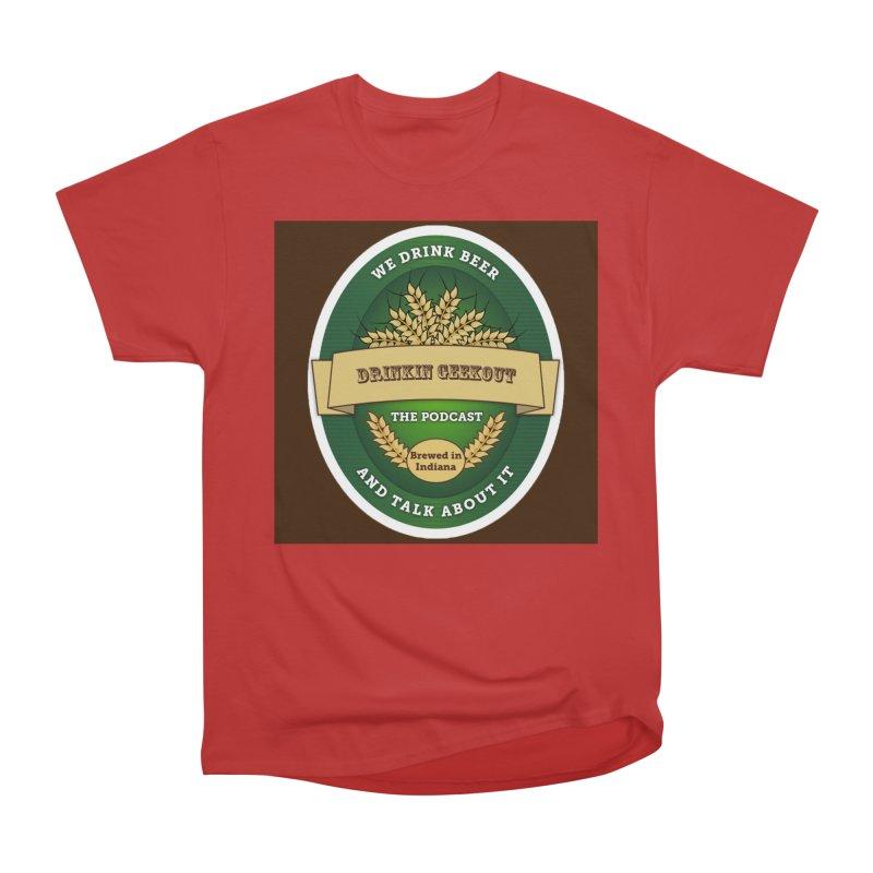 DrinkIN GeekOUT Classic Men's Heavyweight T-Shirt by Drinkingeekout's Artist Shop