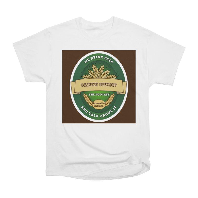 DrinkIN GeekOUT Classic Women's Heavyweight Unisex T-Shirt by Drinkingeekout's Artist Shop