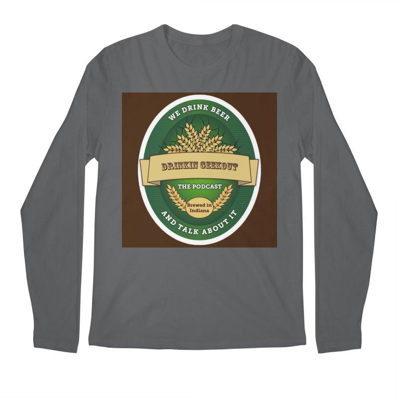 DrinkIN GeekOUT Classic Men's Longsleeve T-Shirt by Drinkingeekout's Artist Shop