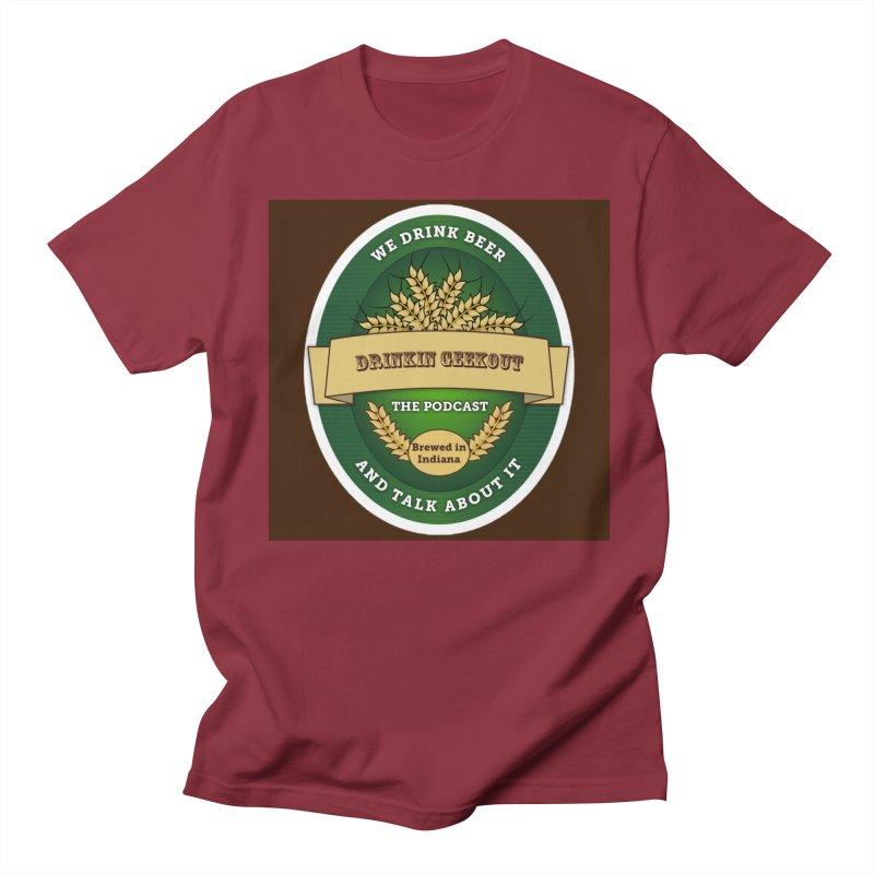 DrinkIN GeekOUT Classic Men's T-Shirt by Drinkingeekout's Artist Shop