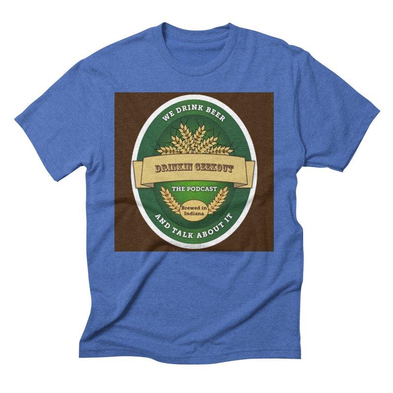 DrinkIN GeekOUT Classic Men's Triblend T-Shirt by Drinkingeekout's Artist Shop