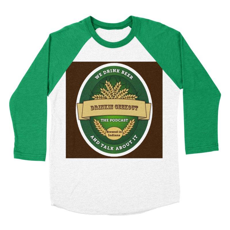 DrinkIN GeekOUT Classic Men's Baseball Triblend T-Shirt by Drinkingeekout's Artist Shop