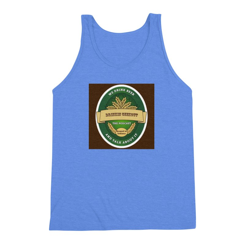 DrinkIN GeekOUT Classic Men's Triblend Tank by Drinkingeekout's Artist Shop