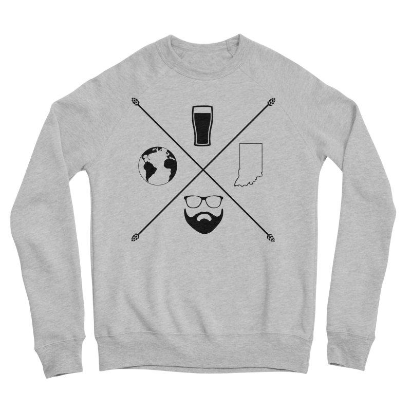 DiGo Hopster design Women's Sponge Fleece Sweatshirt by DrinkIN GeekOUT's Artist Shop