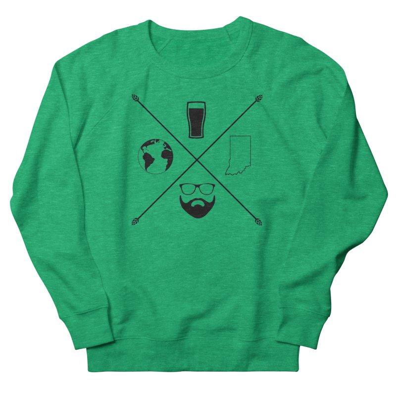 DiGo Hopster design Women's French Terry Sweatshirt by DrinkIN GeekOUT's Artist Shop