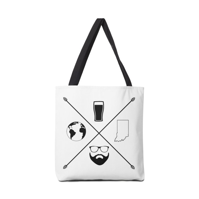 DiGo Hopster design Accessories Tote Bag Bag by DrinkIN GeekOUT's Artist Shop