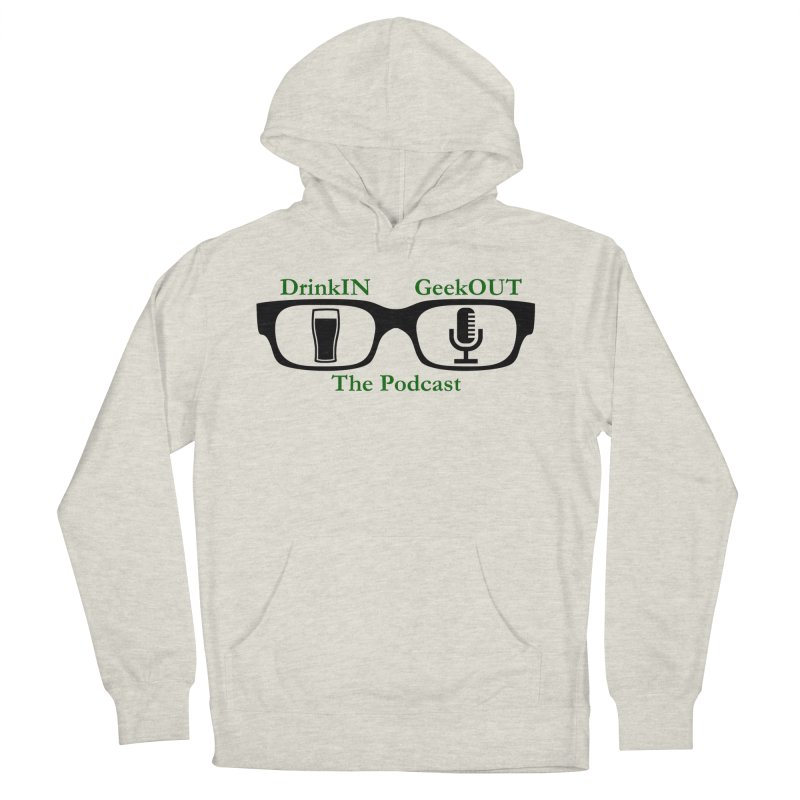 Beer Goggles Women's French Terry Pullover Hoody by DrinkIN GeekOUT's Artist Shop
