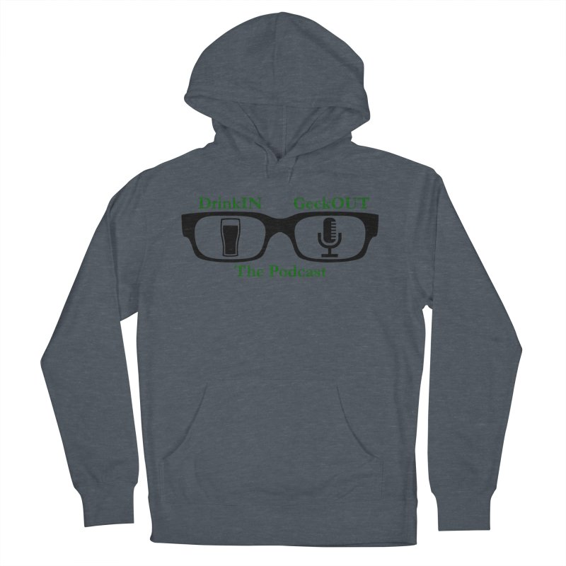 Beer Goggles Men's French Terry Pullover Hoody by DrinkIN GeekOUT's Artist Shop