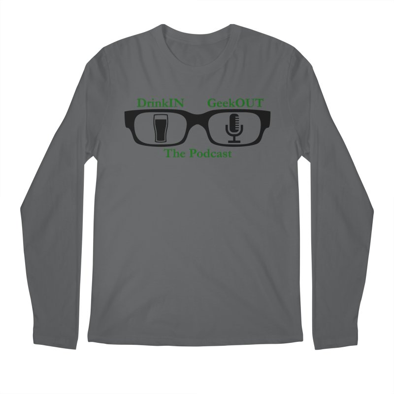 Beer Goggles Men's Regular Longsleeve T-Shirt by DrinkIN GeekOUT's Artist Shop