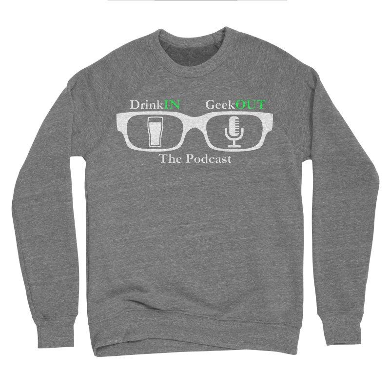 White Beer Goggles Women's Sponge Fleece Sweatshirt by DrinkIN GeekOUT's Artist Shop