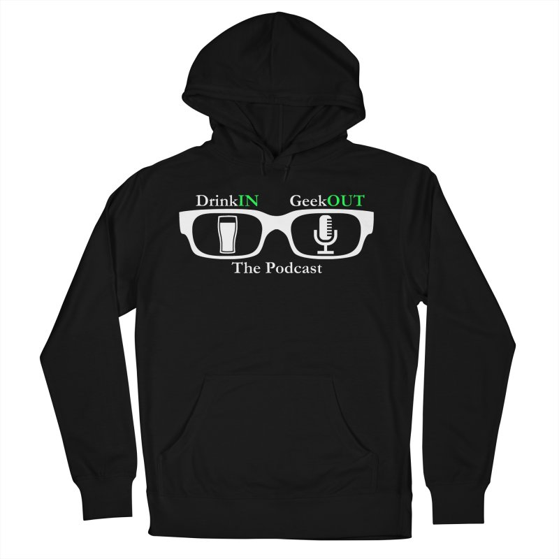 White Beer Goggles Women's French Terry Pullover Hoody by DrinkIN GeekOUT's Artist Shop