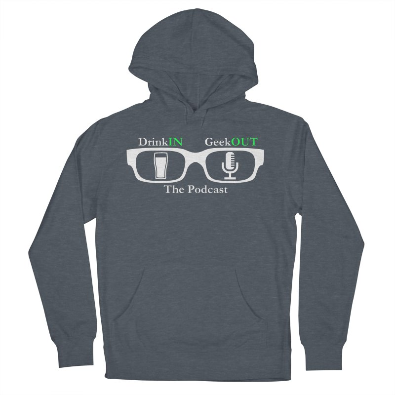 White Beer Goggles Men's French Terry Pullover Hoody by DrinkIN GeekOUT's Artist Shop