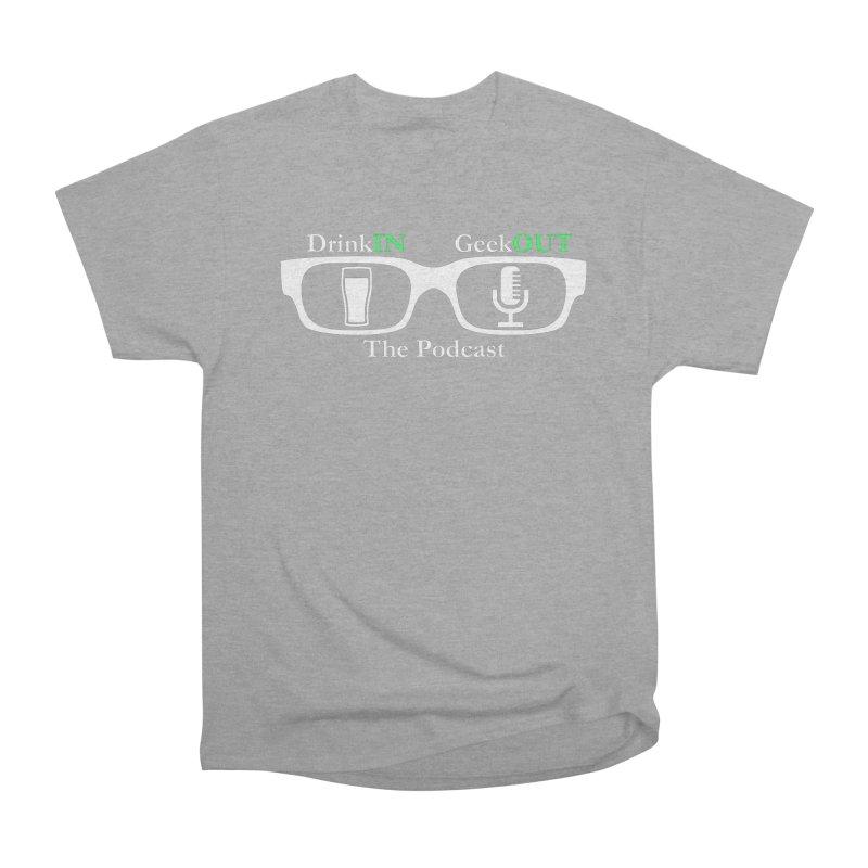 White Beer Goggles Men's Heavyweight T-Shirt by DrinkIN GeekOUT's Artist Shop