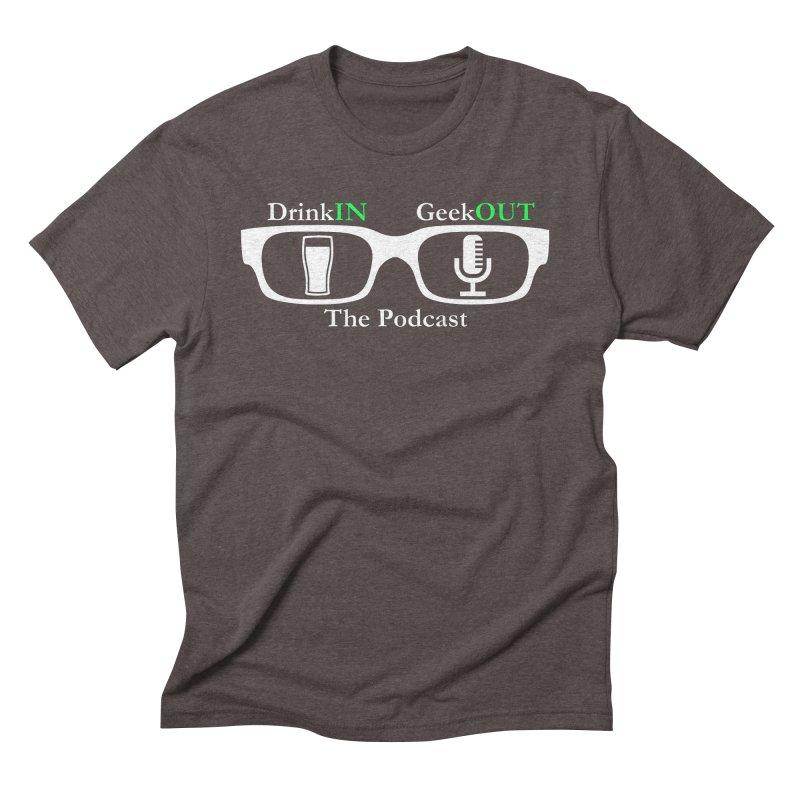 White Beer Goggles Men's Triblend T-Shirt by DrinkIN GeekOUT's Artist Shop