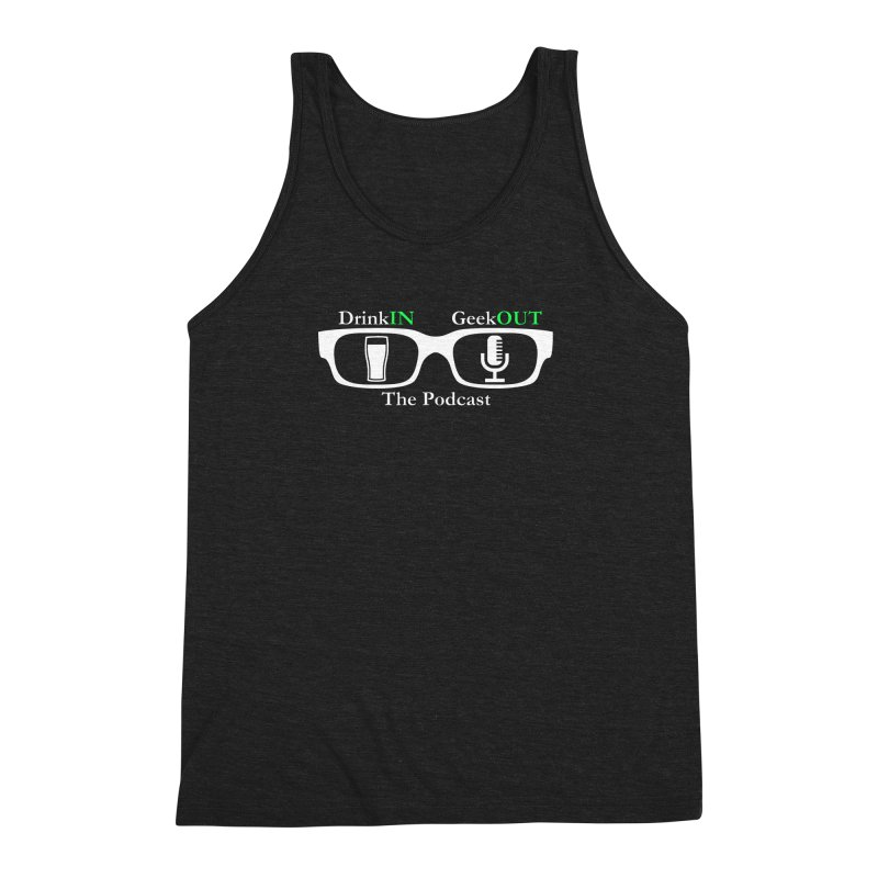 White Beer Goggles Men's Triblend Tank by DrinkIN GeekOUT's Artist Shop