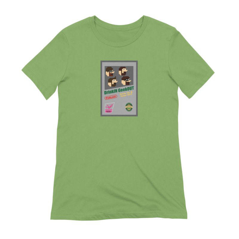 DiGo Box Art Women's Extra Soft T-Shirt by DrinkIN GeekOUT's Artist Shop