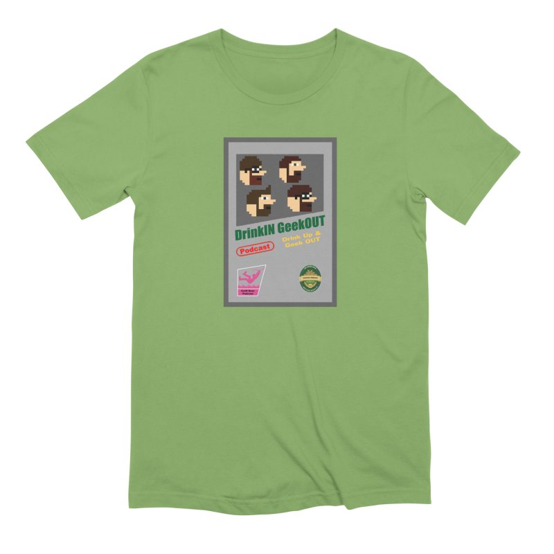 DiGo Box Art Men's Extra Soft T-Shirt by DrinkIN GeekOUT's Artist Shop