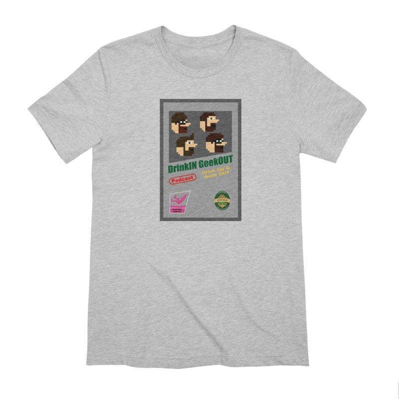 DiGo Box Art Men's Extra Soft T-Shirt by DrinkIN GeekOUT's Artist Shop