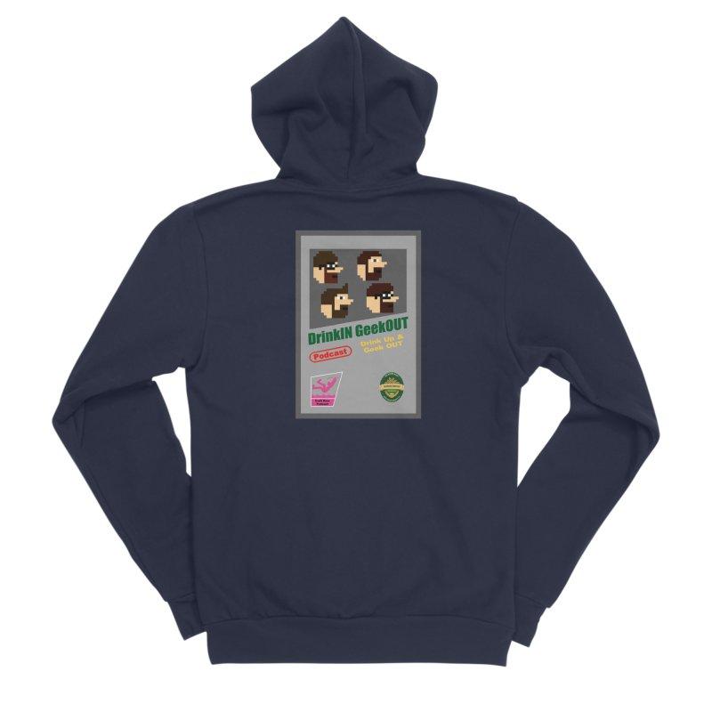 DiGo Box Art Men's Sponge Fleece Zip-Up Hoody by DrinkIN GeekOUT's Artist Shop