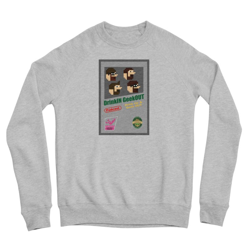 DiGo Box Art Men's Sponge Fleece Sweatshirt by DrinkIN GeekOUT's Artist Shop