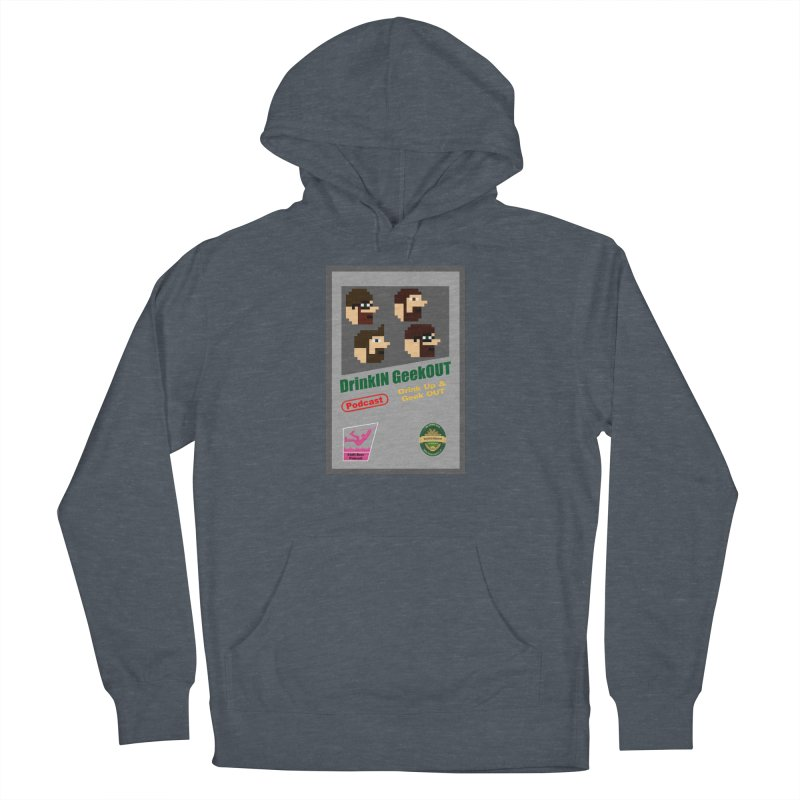 DiGo Box Art Women's French Terry Pullover Hoody by DrinkIN GeekOUT's Artist Shop