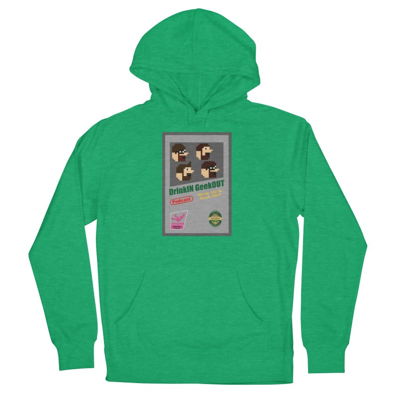 DiGo Box Art Men's French Terry Pullover Hoody by DrinkIN GeekOUT's Artist Shop