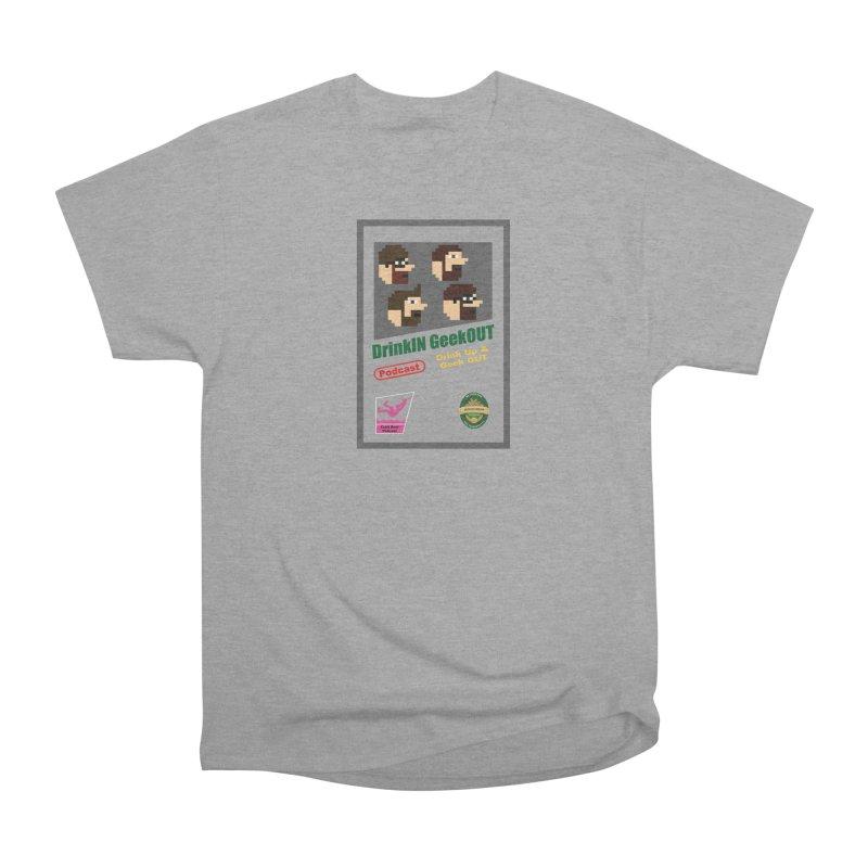 DiGo Box Art Men's Heavyweight T-Shirt by DrinkIN GeekOUT's Artist Shop