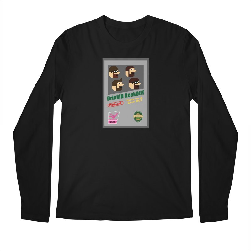 DiGo Box Art Men's Regular Longsleeve T-Shirt by DrinkIN GeekOUT's Artist Shop