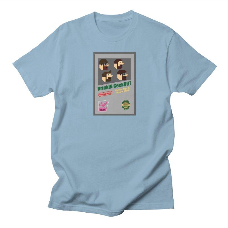 DiGo Box Art Women's Regular Unisex T-Shirt by DrinkIN GeekOUT's Artist Shop