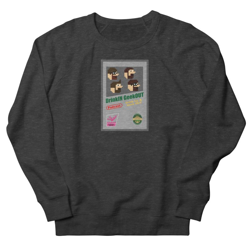 DiGo Box Art Women's French Terry Sweatshirt by DrinkIN GeekOUT's Artist Shop