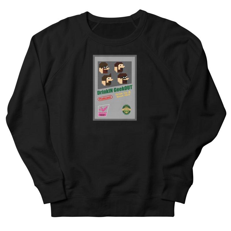 DiGo Box Art Men's French Terry Sweatshirt by DrinkIN GeekOUT's Artist Shop