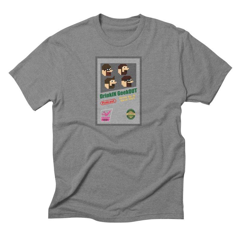 DiGo Box Art Men's Triblend T-Shirt by DrinkIN GeekOUT's Artist Shop
