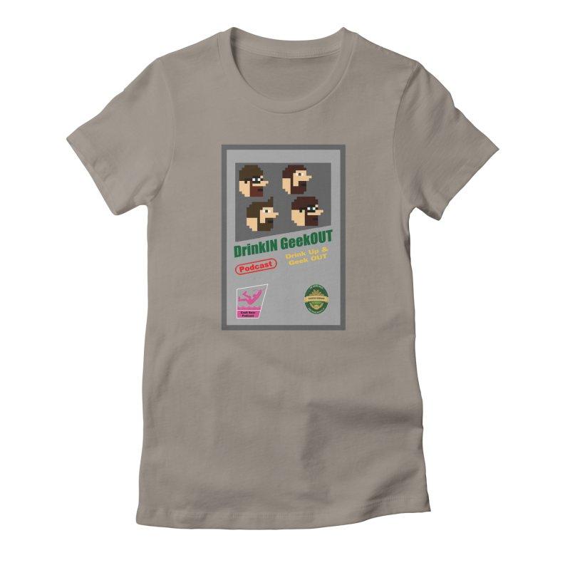 DiGo Box Art Women's Fitted T-Shirt by DrinkIN GeekOUT's Artist Shop