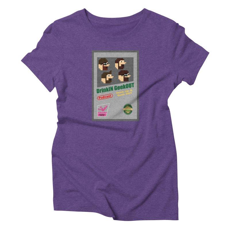 DiGo Box Art Women's Triblend T-Shirt by DrinkIN GeekOUT's Artist Shop